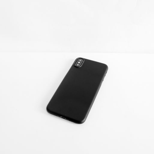 satin aero iphone x black