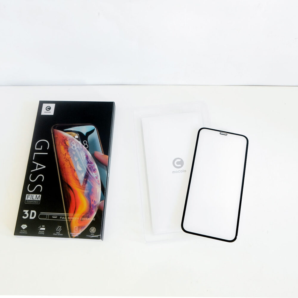 tempered glass 3D full cover iphone xs max