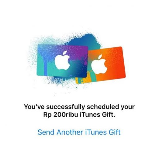 itunes gift card malang