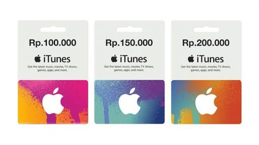 itunes gift card region indonesia
